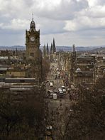 Edinburgh, New Town, Princesstreet