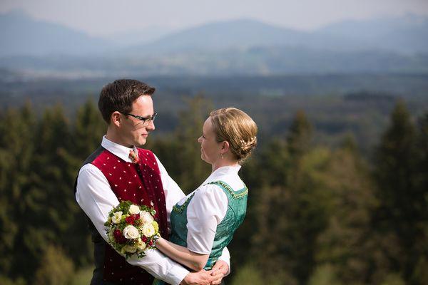 ... Edith und Florian ...