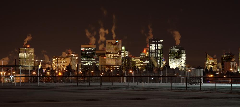 Edmonton (Kanada) im Winter