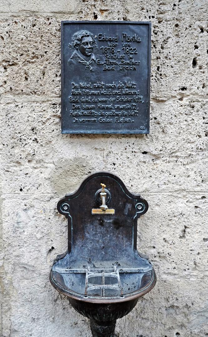 Eduard-Mörike-Gedenktafel