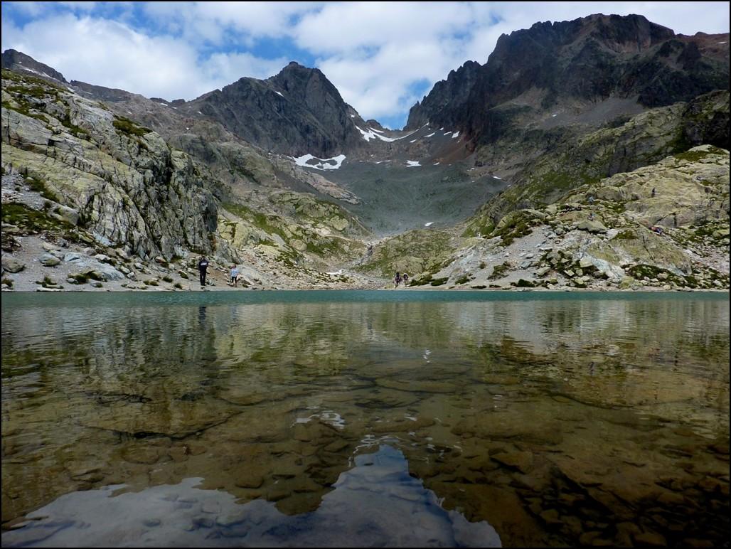 Effet miroir au lac blanc chamonix photo et image for Effet miroir sur photoshop