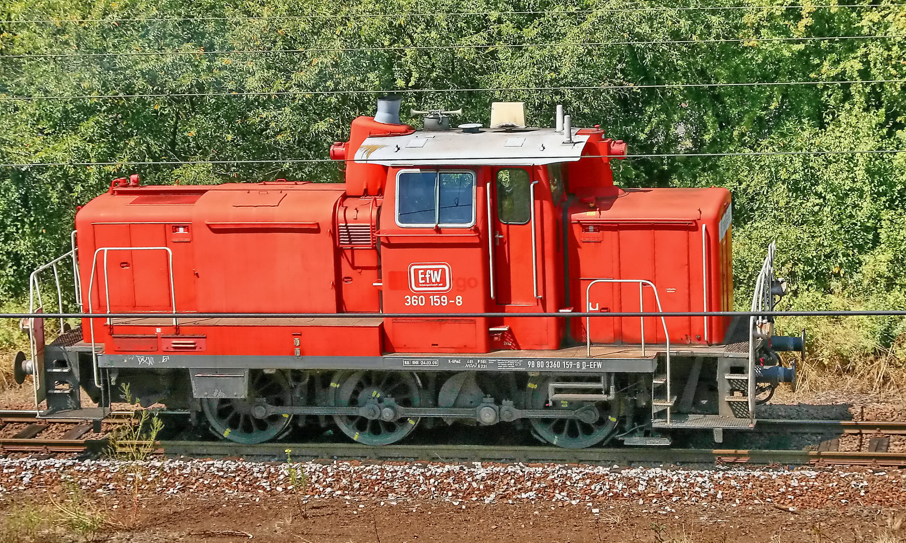 EfW Diesellok 360 159-8