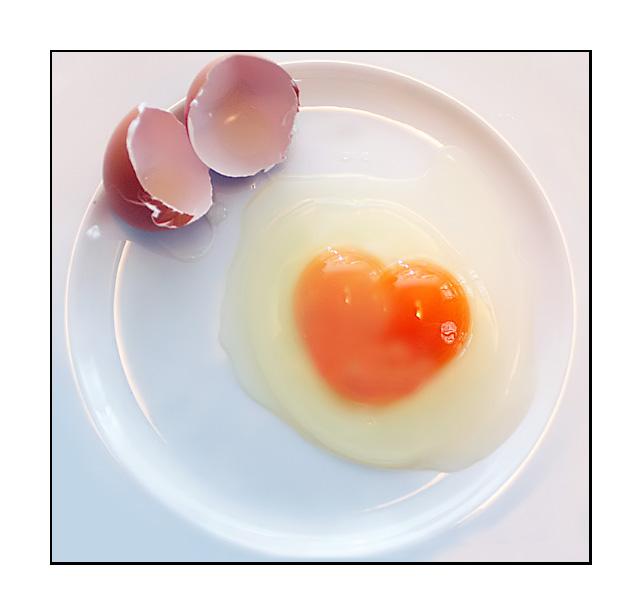 Egg full of love
