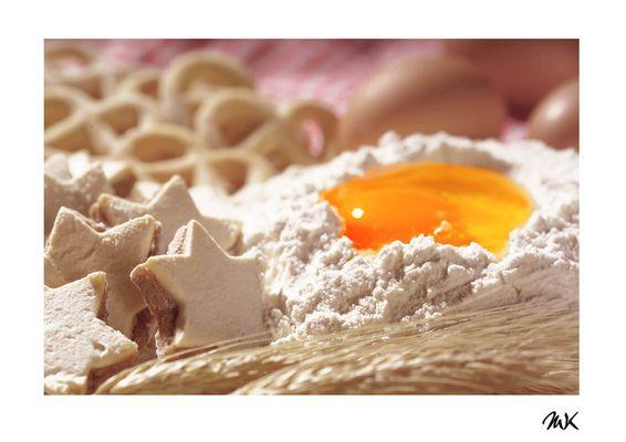 egg still subsides in flour