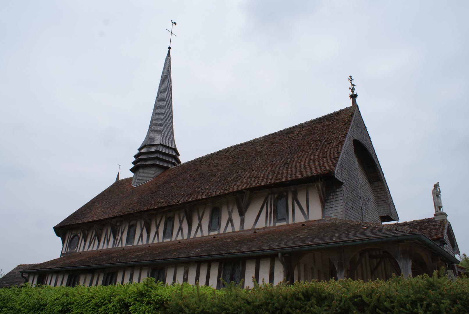 Eglise à Pan de Bois