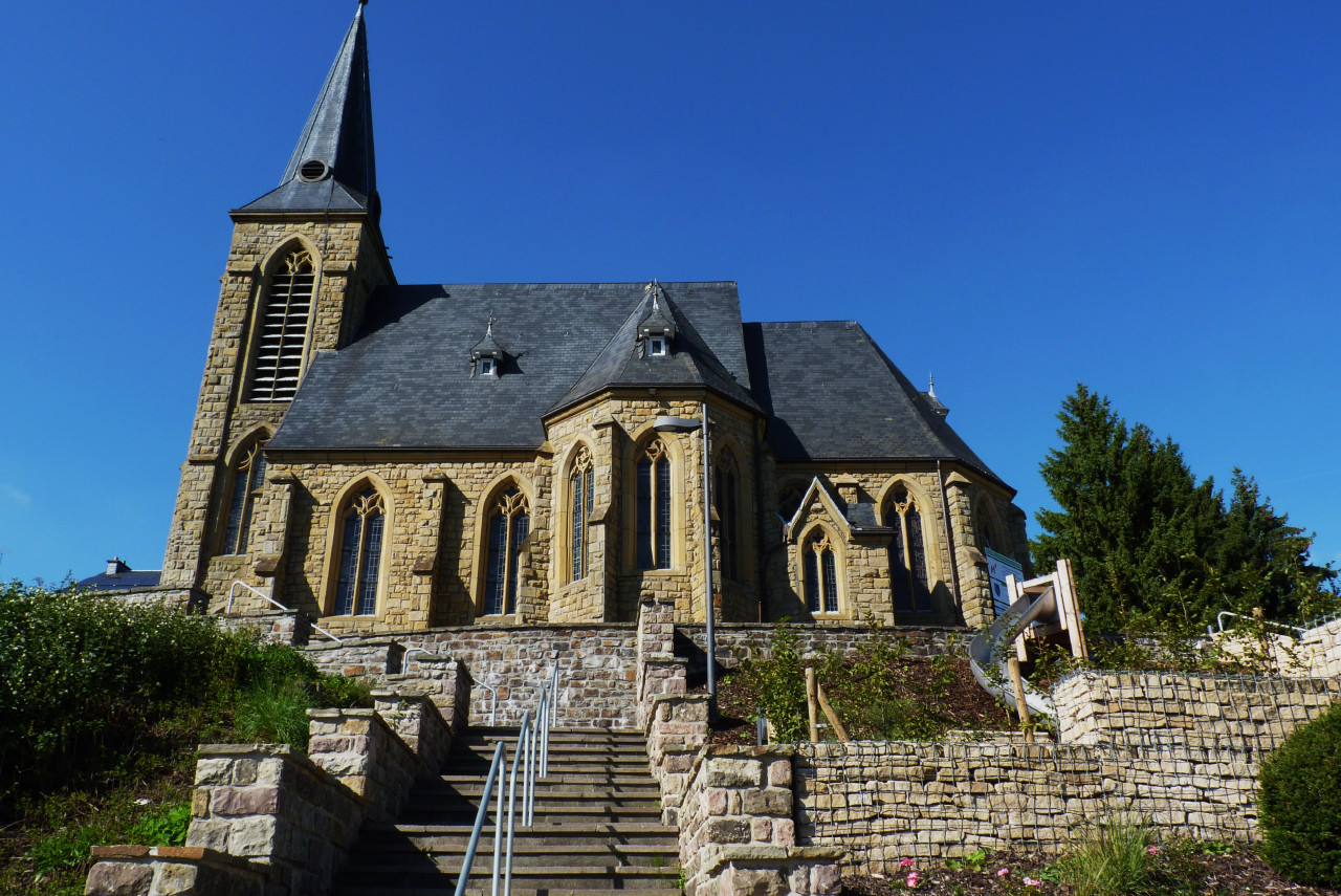 Eglise de Oudler(st vith) 1705