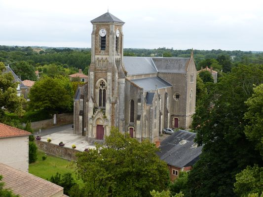 Eglise de Talmont St Hilaire (85)