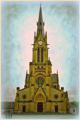 Eglise de village (Ardennes)