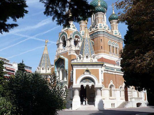 Eglise Russe a Nice ( Cerkiew )