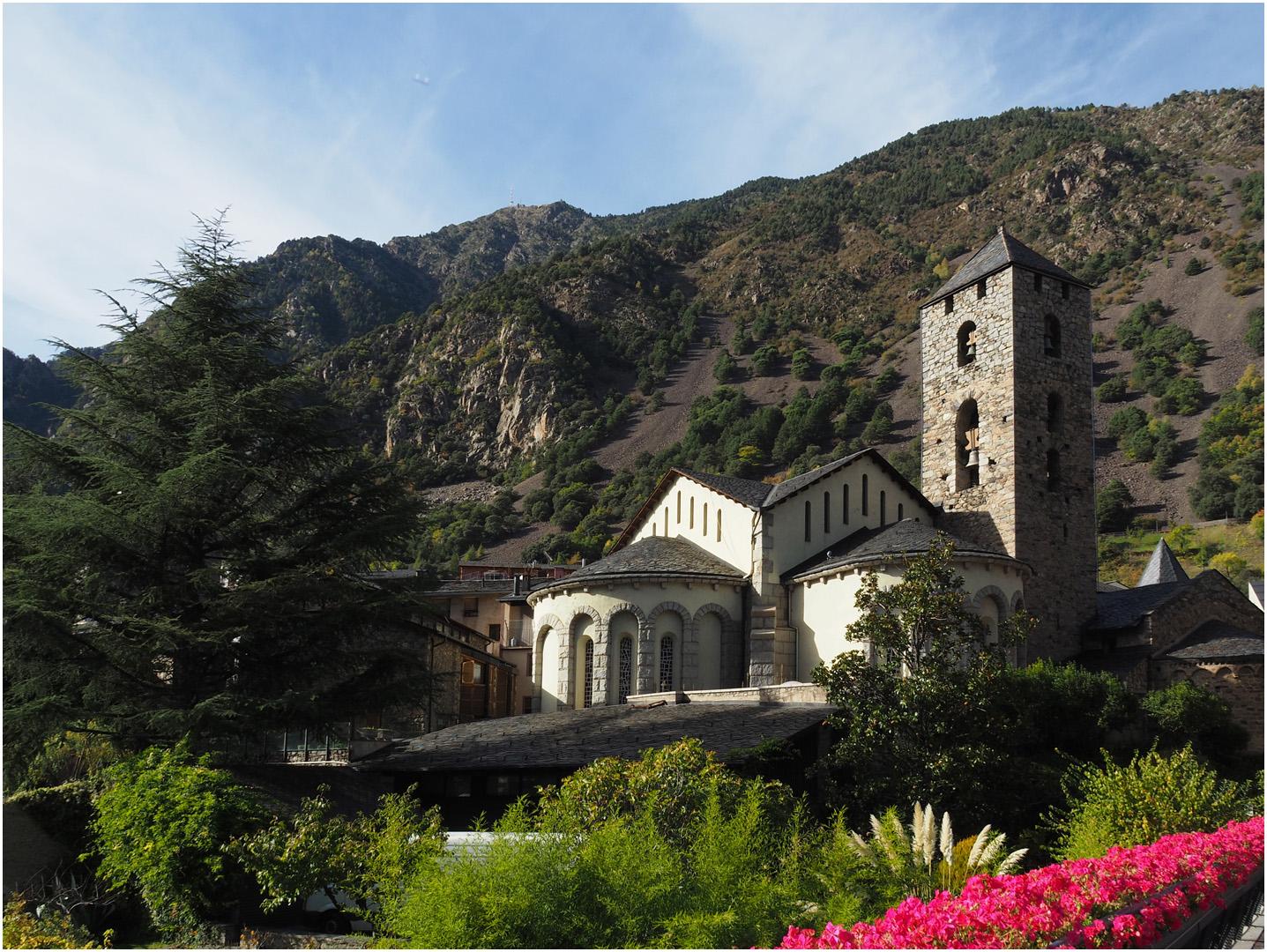 Eglise Saint-Estève (XIIème)  Andorre-la-Vieille