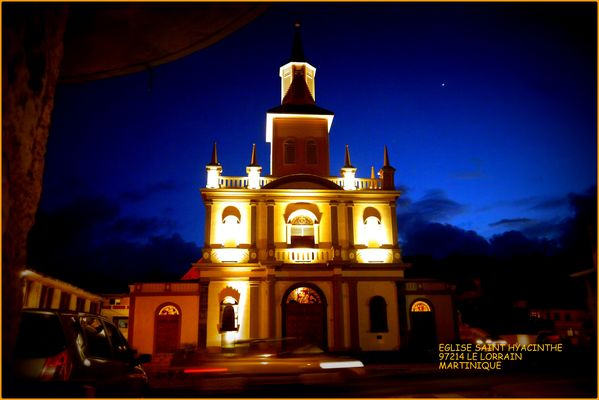 église saint hyacinthe le lorrain martinique