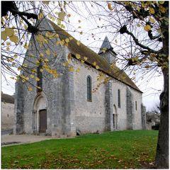 Eglise Saint-Mammès à Montarlot (XIIe siècle)