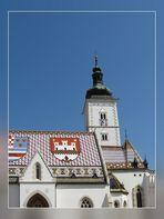 Eglise Saint Marc - Zagreb