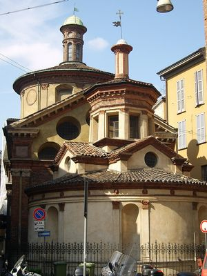 Eglise San Satiro a Milan
