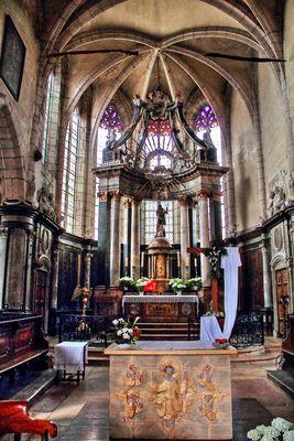 Eglise St Jean-Baptiste de St Jean de Losne