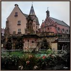 Eguisheim , la place du village