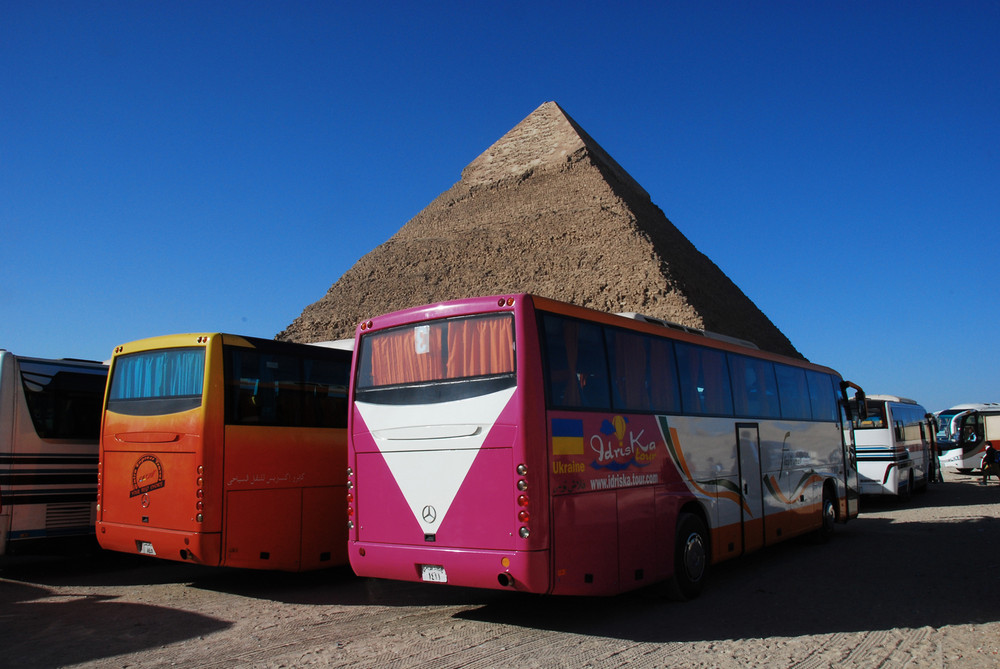 Egypt : Bus Parking....