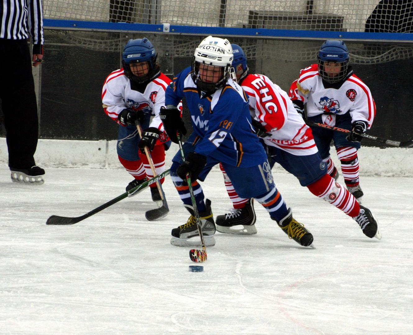 EHC München Eishockey Kleinstschüler