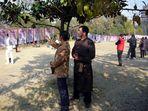 Eheanbahnung im Baohepark in Hefei