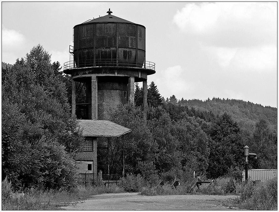 Ehem. BBW Bestwig: Wasserturm