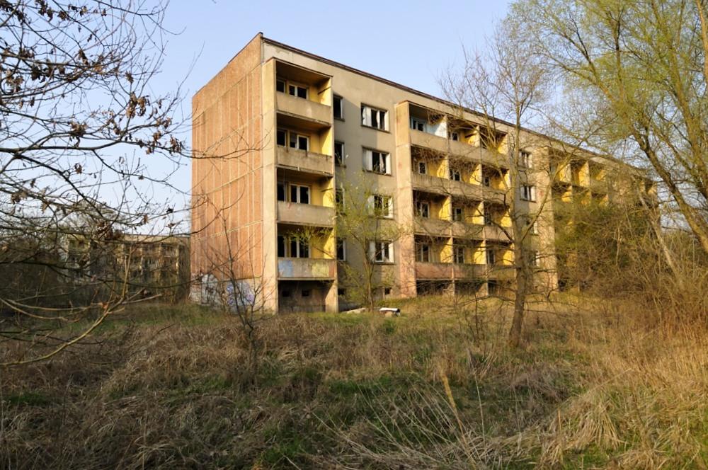 ehem. Fliegerhorst Schönwalde Glien 6, Plattenbau