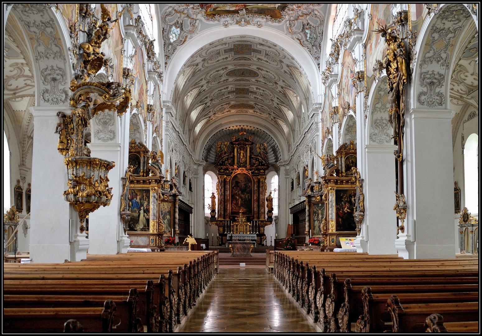Ehem. Prämonstratenser-Kloster Steingaden