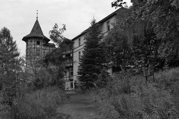 Ehem. Sanatorium in Thüringen