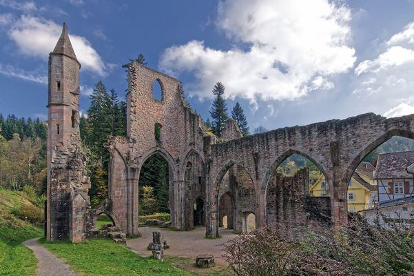 Ehemalige Basilika des Klosters Allerheiligen