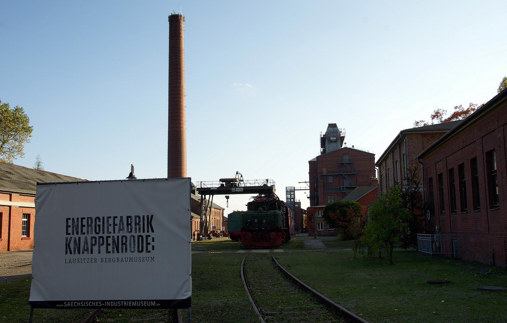 ..... ehemalige Brikettfabrik / Knappenrode