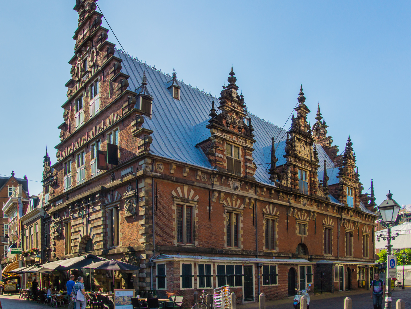 Ehemalige Fleischhalle am Grote Markt - Haarlem/Niederlande