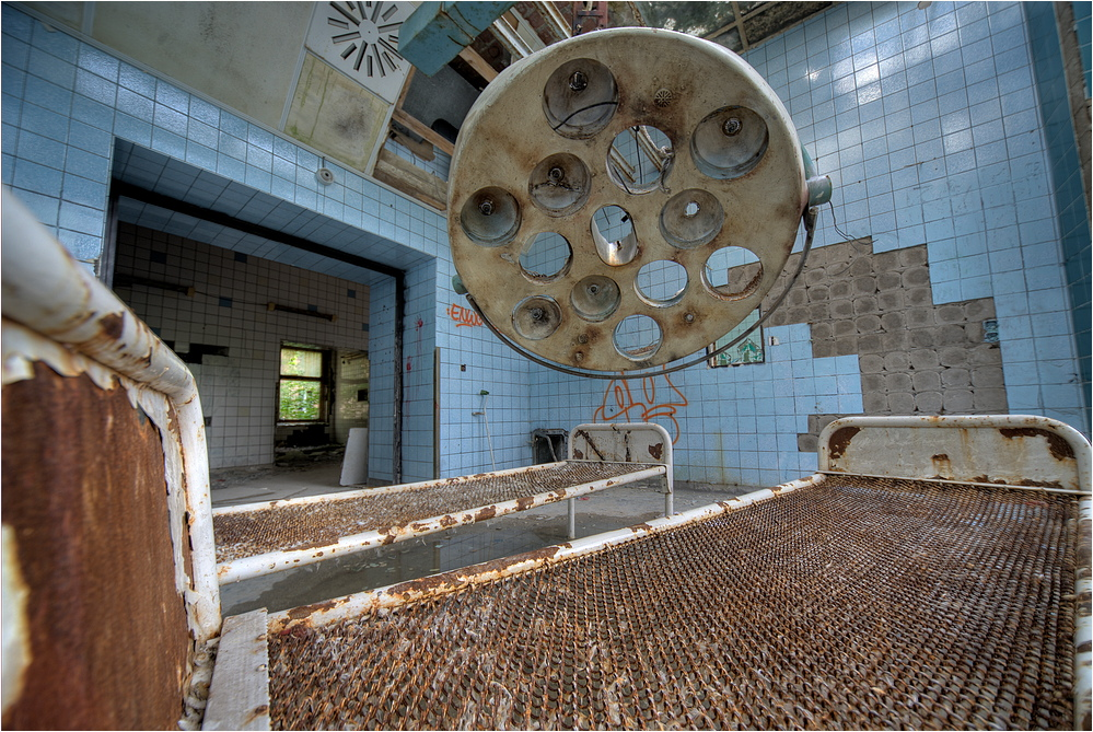 Ehemalige Heilstätten Beelitz 2