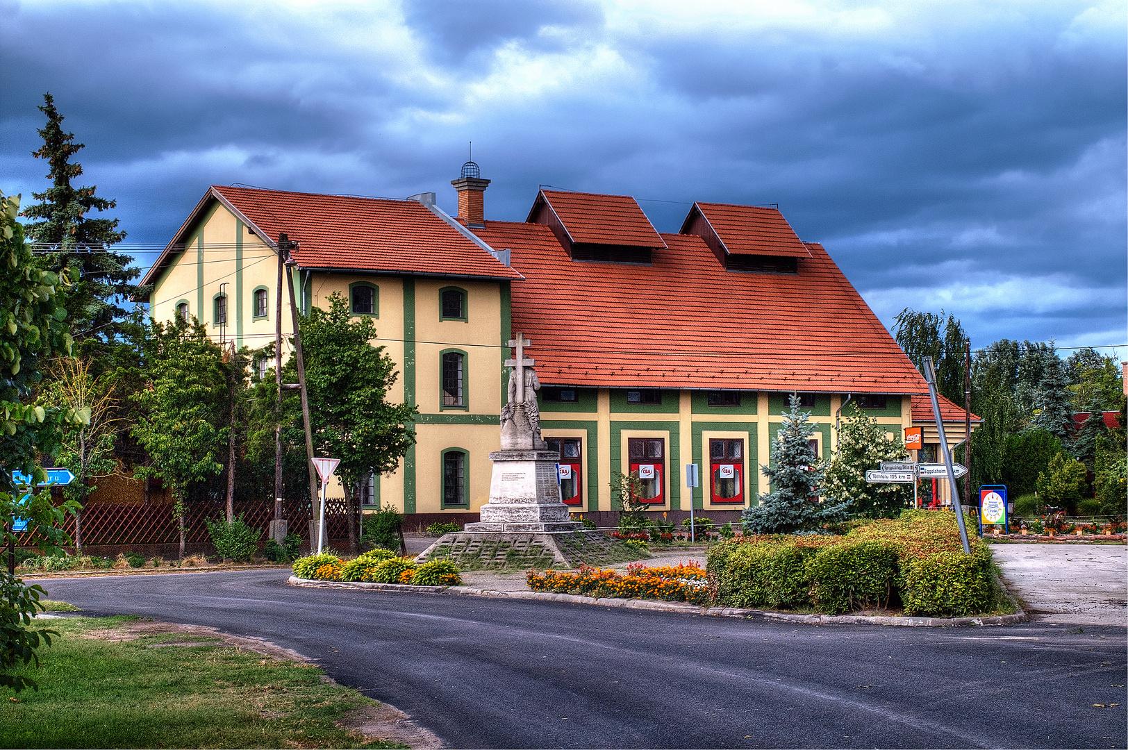 Ehemalige Mühle in Südungarn