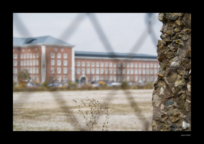 Ehemalige SS- Kaserne in Nürnberg