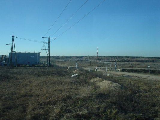 Ehemaliger Tagebau nahe Bitterfeld