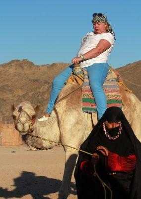 Ehhhh... schließlich habe ich dafür bezahlt! (Hurghada, Ägypten)