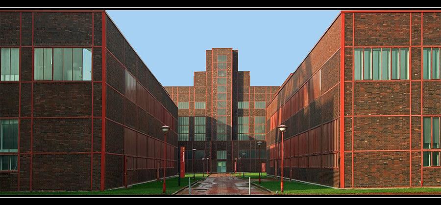 Ehrenhof Zeche Zollverein (Weltkulturerbe)