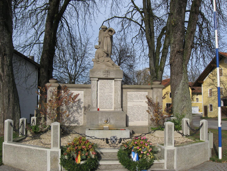 Ehrenmal in Landkreis Mühldorf