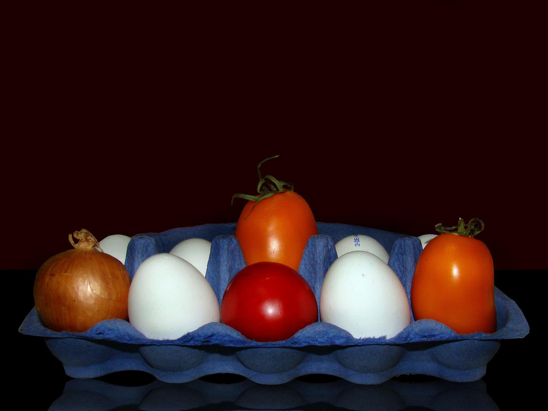 ei mit tomate....