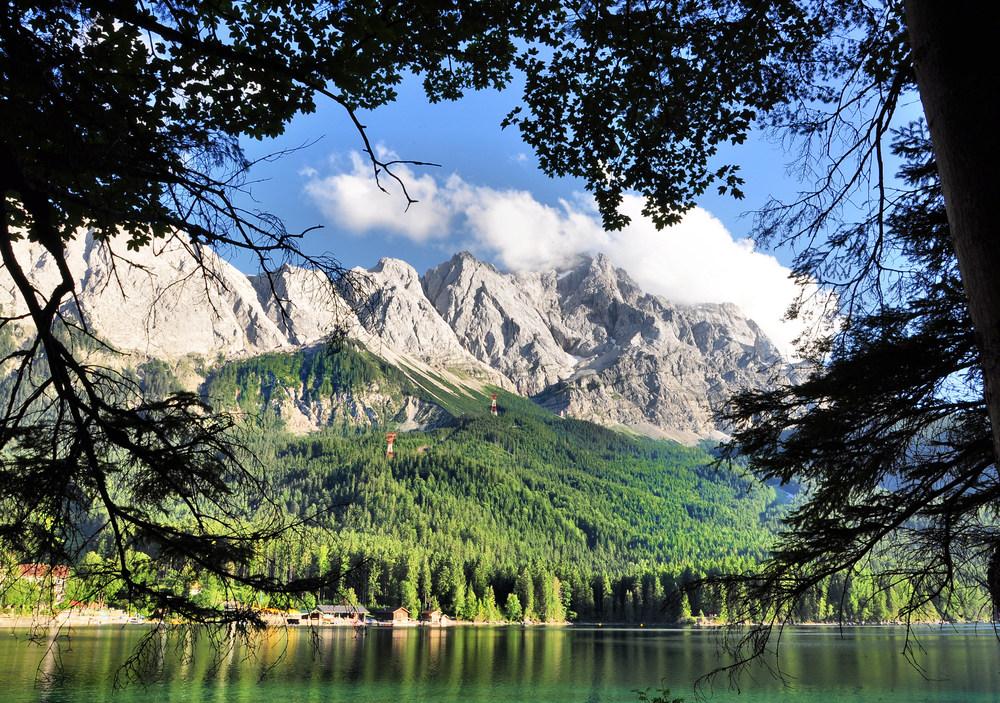 Eibsee, am Fuß der Zugspitze # 12