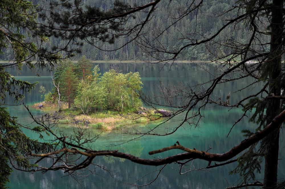 Eibsee, am Fuß der Zugspitze # 6