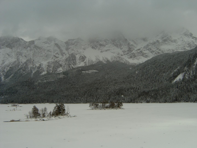 Eibsee-der Winter