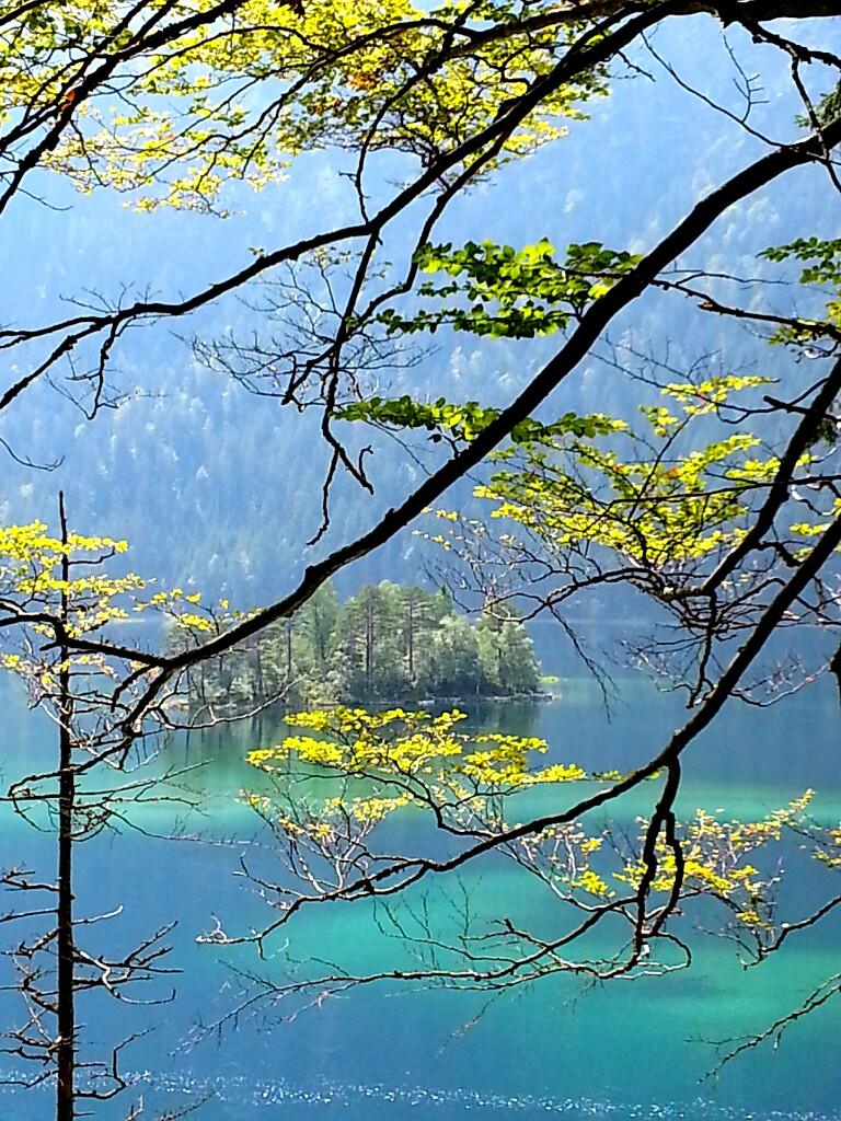 Eibsee - unterhalb der Zugspitze