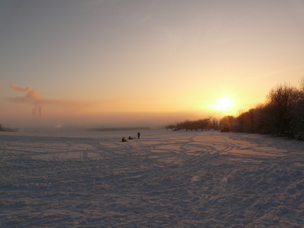 Eichsfelder Winterimpression