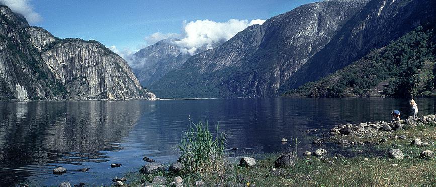Eidfjordvatn Panorama 2001
