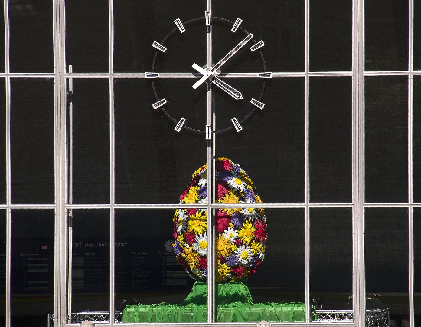 Eier-Uhr...