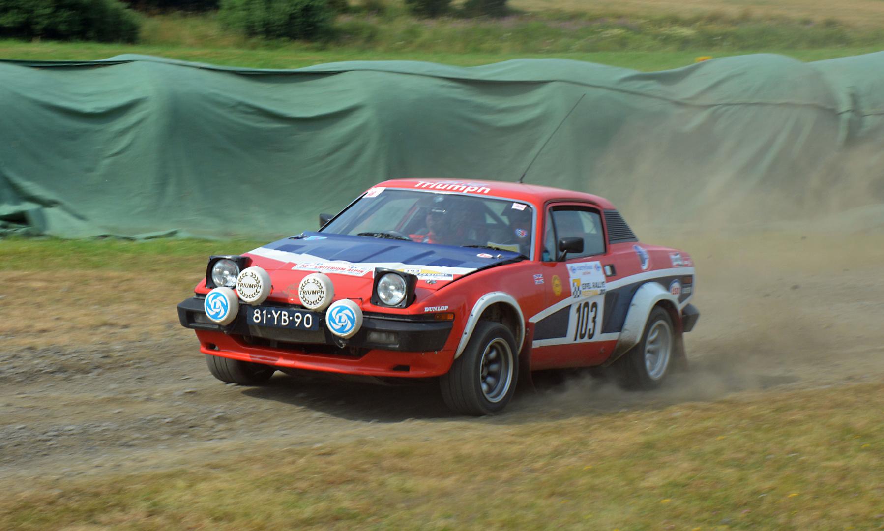 Eifel Rallye Festival Daun Juli 2013. Part XII