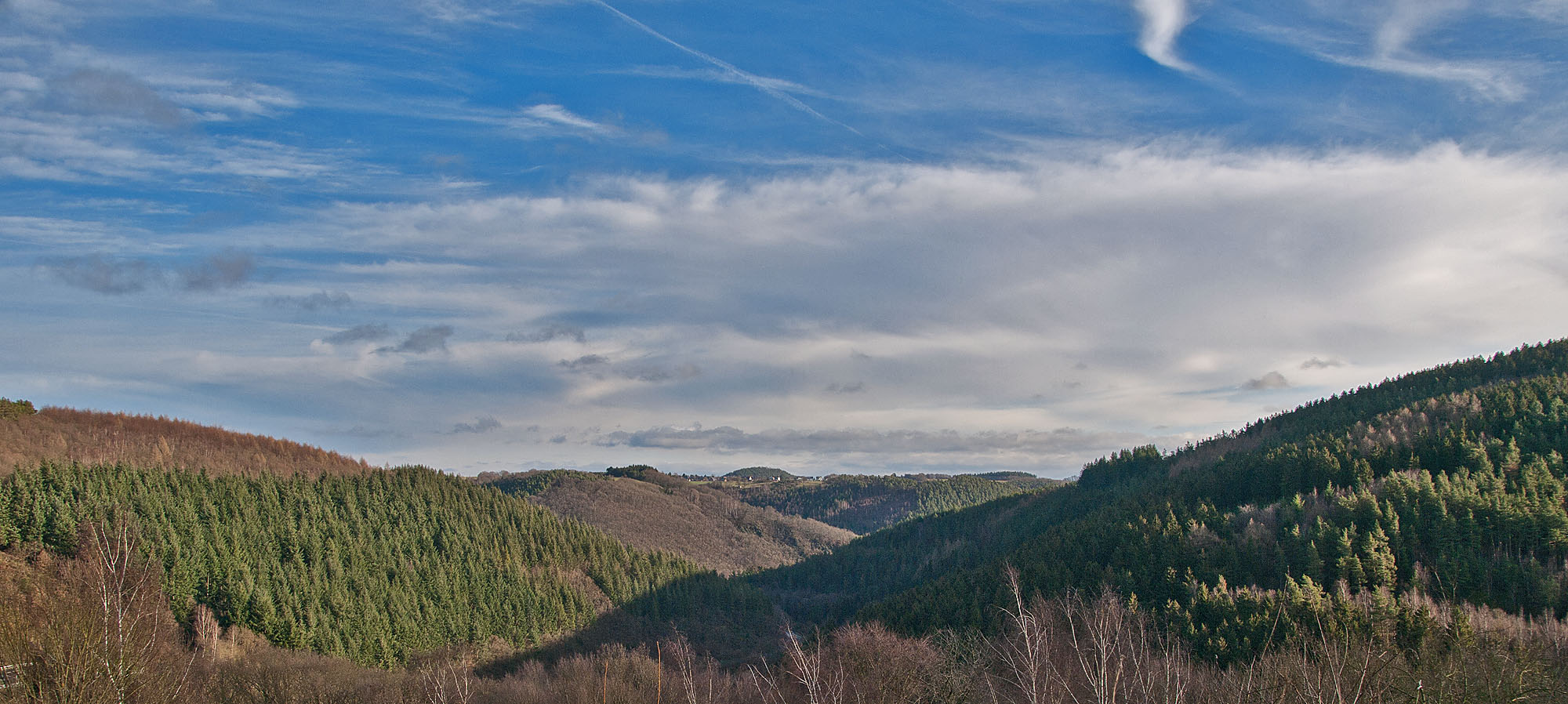 Eifelpanorama am 29.12.2012