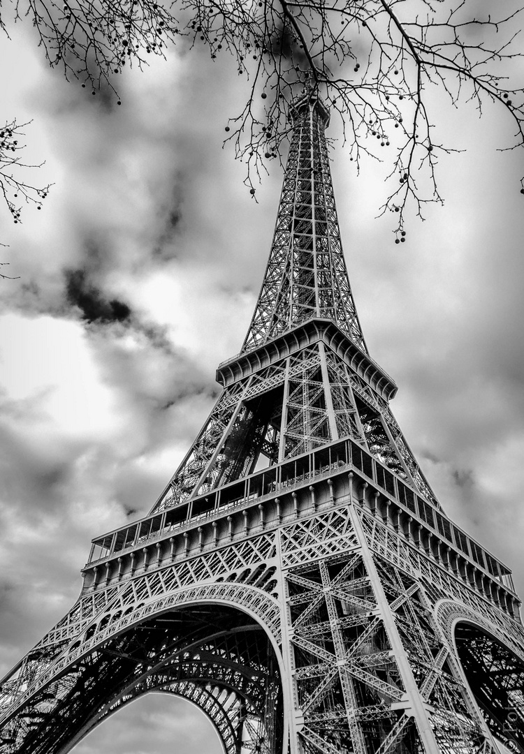 Eiffel Black & White