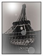 Eiffelturm abstrakt