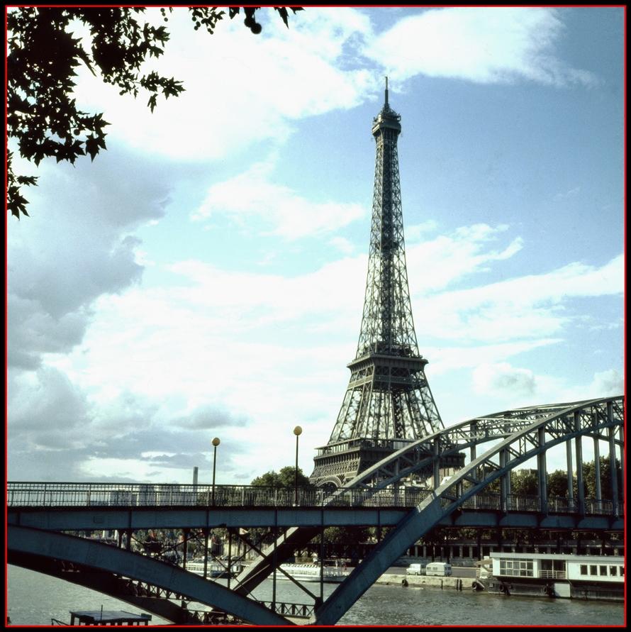 Eiffelturm, das Gusseisenzeitalter
